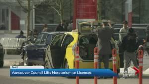 Vancouver Council lifts moratorium on taxi licences