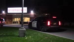 Aftermath of police-involved shooting inside Cobourg hospital emergency room