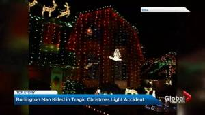 Family behind popular Burlington Christmas display vows to press on after death of patriarch (02:44)