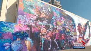 Latest Edmonton street art mural complete