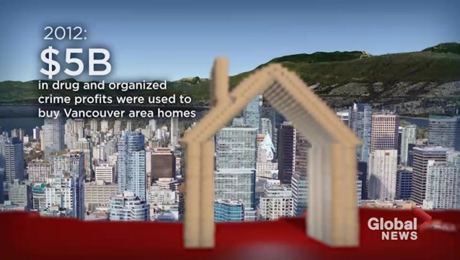 Secret police study finds crime networks could have laundered over $1B through Vancouver homes in 2016  | Globalnews.ca