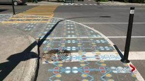 Rosemont crosswalk aims to keep cyclists safe (02:17)