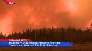 Fort McMurray wildfire: More evacuation issued Tuesday afternoon as situation intensifies