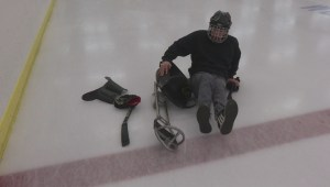 Teen sledge hockey player with cerebral palsy kicked out of Oliver public skate