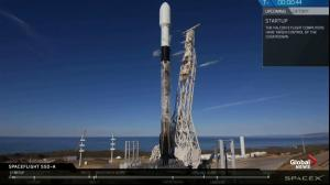 SpaceX launches Falcon 9 rocket carrying 64 small satellites