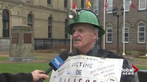 Ex-miner calling on province for worker's compensation changes
