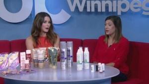 Beauty expert Chantel Guertin with must have summer beauty essentials