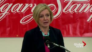 Federal government needs to listen to folks from Calgary: Notley