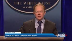 Melissa McCarthy channels Sean Spicer