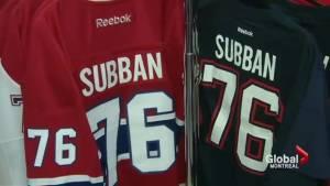 P.K. Subban merchandise on sale