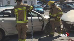 Mock car crash has Laval drivers thinking twice about speeding