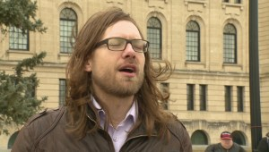 Trans flag flies at Legislative Building, but stolen in Moose Jaw
