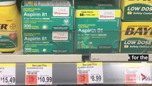 New study says aspirin use can reduce risk for two types of cancers