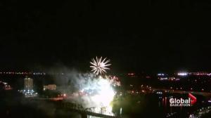 Fireworks festival lights up Saskatoon sky