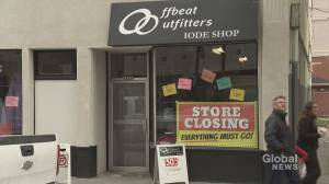 'Very sad': Calgary thrift shop closes its doors after half-a-century of charity work (01:46)