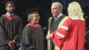 79-year-old woman graduates with fellow York University classmates
