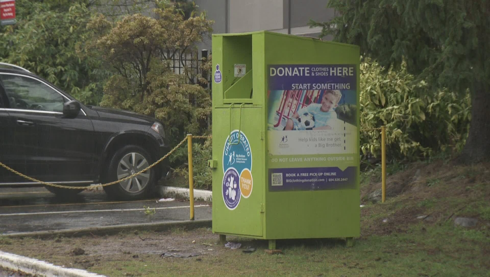 Push to remove donation bins in B.C. gains steam following latest death