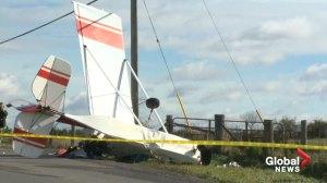 Small plane crash near Ottawa leaves pilot seriously injured
