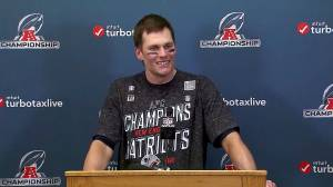 Patriots react after winning AFC Championship over Chiefs and heading back to Super Bowl