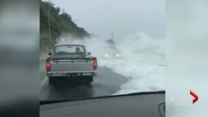 Cyclone Fehi lashes New Zealand as waves threaten buildings, traffic