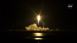 Space X Falcon 9 rocket launches supplies to International Space Station after delay