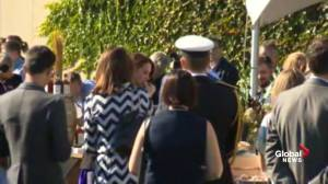Prince William and Kate enjoy snacks at Mission Hill winery in B.C.