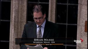 MP Brian Masse offers prayers, condolences over passing of Gord Brown