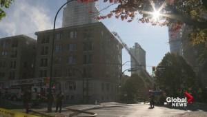Four-alarm fire forces evacuation of West End apartment building
