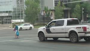 City considers ban on left turns at 104 Ave intersection