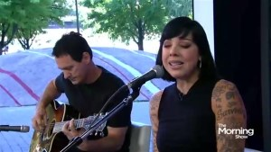 Punk Queen Bif Naked performs her classic Tango Shoes