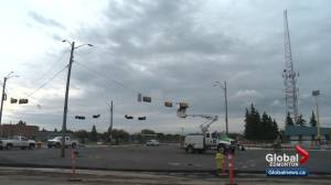 Bonnie Doon traffic circle replaced by intersection