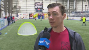 Lethbridge professional soccer player inspires young athletes