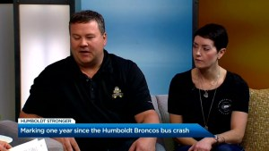 Marking one year since the Humboldt Broncos bus crash