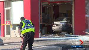 Investigators believe excessive speed a factor in Calgary KFC collision