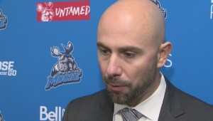 RAW: Manitoba Moose Pascal Vincent – Oct. 15