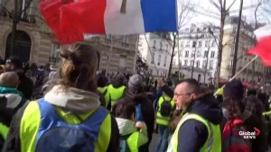 'Yellow Vests' continue protests through Paris for 17th week
