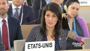 U.S. decries human rights situation in Venezuela