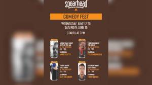 Global News Morning previews Spearhead Brewing Company's comedy festival