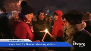 Mourning the Quebec shooting victims