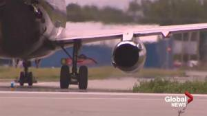 St-Hubert Airport launches new runway (01:40)