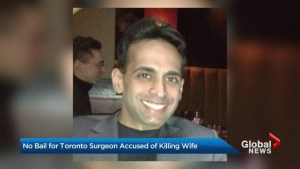 No bail for Toronto surgeon accused of killing wife
