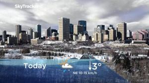 Edmonton early morning weather forecast: Thursday, November 15, 2018