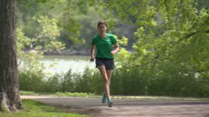 Transplant Games runner already a winner
