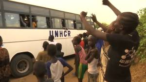 Displaced residents of South Sudan return home as security improves