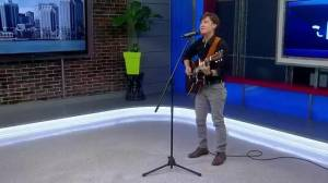 "Blues musician Dan Doiron performs ""Rocky & Adrian"""