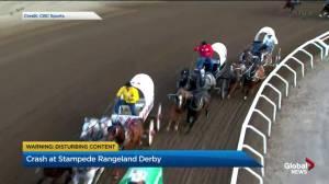 Horse dies, driver disqualified at 2019 GMC Rangeland Derby