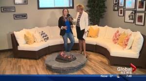 Lorraine on Location: Full House Lottery Showhome basement entertainment area tour (Part 2 of 4) (02:55)