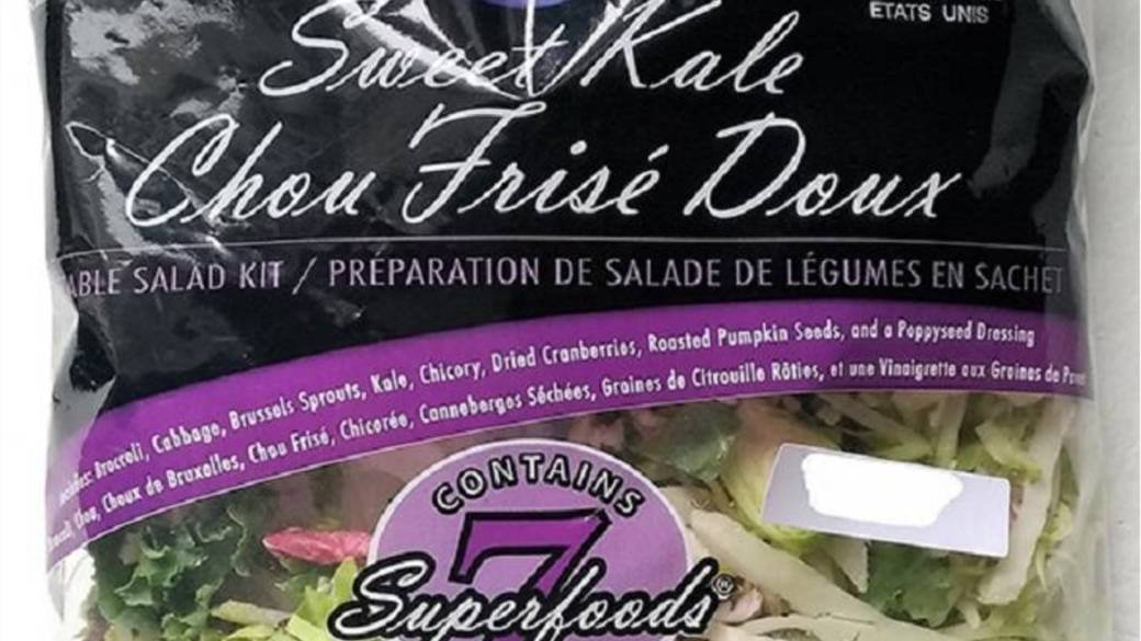 Click to play video: 'Kale salad mix recalled due to possible Listeria contamination'