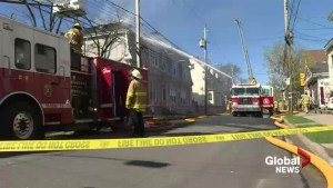 Fire that displaced 25 Halifax residents deemed suspicious
