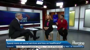 Does the Government need to spend more on social services and less on healthcare?